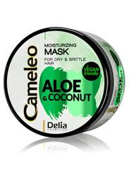 Cameleo - Delia Cosmetics Aloe & Hindistancevizli Nemlendirici Saç Maskesi 200 ml