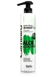 Cameleo - Delia Cosmetics Aloe & Hindistancevizli Nemlendirici Şampuan 250 ml