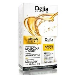 Delia Cosmetics - Delia Argan Care Face Mask With Argan Oil 30 ml