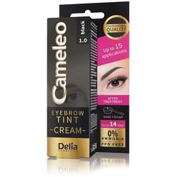 Delia Cosmetics - Delia Cameleo Eyebrow Tint Cream 1.0 Black