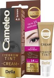 Delia Cosmetics - Delia Cameleo Eyebrow Tint Cream 4.0 Brown