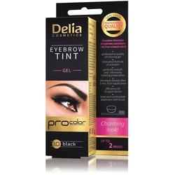 Delia Cosmetics - Delia Eyebrow Tint Gel 1.0 Black
