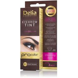 Delia Cosmetics - Delia Eyebrow Tint Gel 3.0 Dark Brown