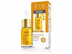 Delia Cosmetics - Delia Vitamins A+ E+ F Face & Neckline Serum 10 ml