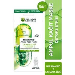 Garnier - Garnier Niasinamid Detoks Etkili Ampul Kağıt Maske