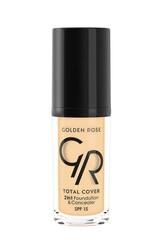 Golden Rose - Golden Rose Total Cover 2 In1 Fondöten& Kapatıcı No:021