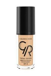 Golden Rose - Golden Rose Total Cover 2in1 Foundation & Concealer 22