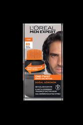 Loreal Paris - Loreal Paris Men Expert One-Twist Erkek Saç Boyası Koyu Kahve 03