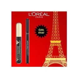 Loreal Paris - Loreal Paris Volusmissime X5 Maskara + Infallible Waterproof Eyeliner
