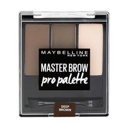 Maybelline - Maybelline New York Master Brow Pro Kaş Paleti - 04 Koyu Ton
