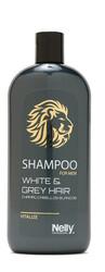 Nelly Professional - Nelly Professional Erkek Serisi Beyaz & Gri Saç Şampuanı 400 ml