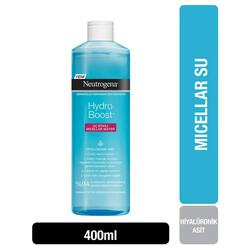 Neutrogena - Neutrogena Hydro Boost 3 Etkili Makyaj Temizleme Suyu 400 ml