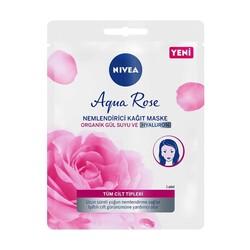Nivea - Nivea Poşet Maske Aqua Rose Nem Kağıt Maske