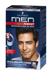 Schwarzkopf - Schwarzkopf Perfect Men Saç Boyası 90