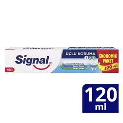 Signal - Signal Diş Macunu Üçlü Koruma 120 ml