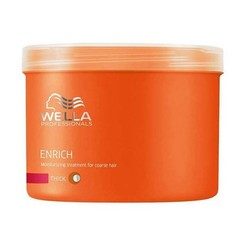 Wella - Wella Enrich Kalın Telli Saçlar İçin Nemlendirici Bakım Maskesi 500ml