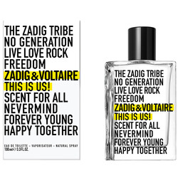 Zadig&Voltaire - Zadig&Voltaire This is Us 100 ml Edt